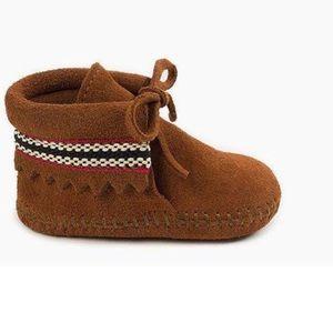 Minnetonka Braid on Cuff (Infants/Toddlers') SZ 6